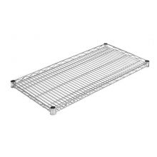 Adjustable Zinc Wire Shelf (Instafit) - 455mm width
